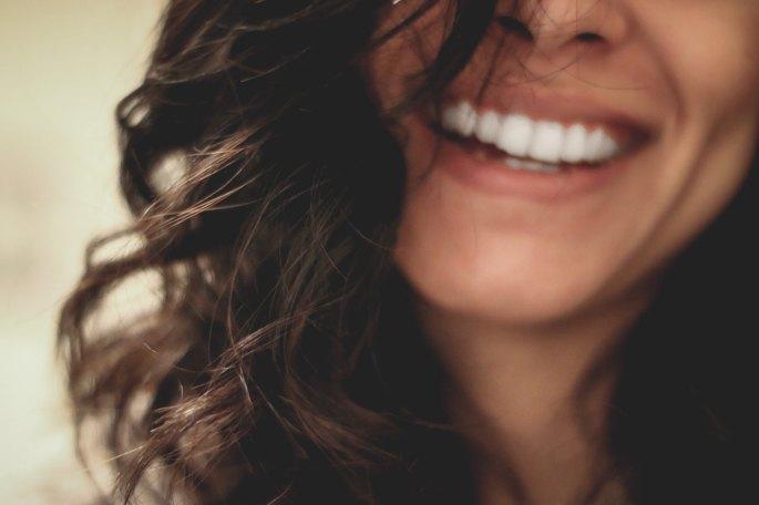 nice teeth smile